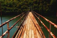 Old rusty bridge Royalty Free Stock Photography