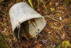 Old rusty bucket Stock Photos