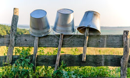 Old rusty bucket Royalty Free Stock Photo
