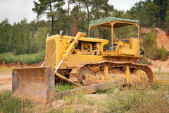 Old rusty bulldozer Stock Images