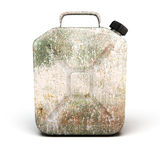 Old rusty canister for petrol Royalty Free Stock Photography