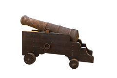 Old rusty cannon Stock Photos