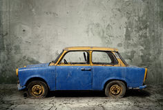 Old rusty car. Old rusty grungy old car Stock Images