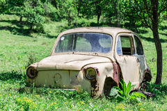 Old rusty car Royalty Free Stock Photos