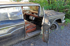 The old rusty car Royalty Free Stock Photo