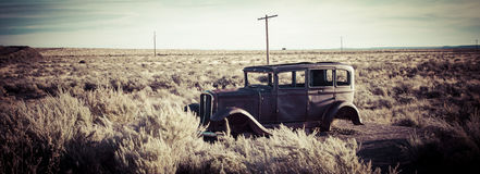 Old rusty car Royalty Free Stock Image