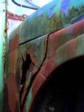 Old rusty car close up Stock Photo