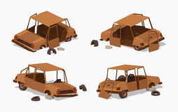 Old rusty car Royalty Free Stock Photography