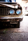 Old rusty car Royalty Free Stock Photo