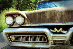 The old rusty car Royalty Free Stock Image