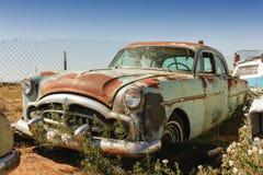 Old rusty car stock photo