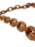 Old rusty chain Royalty Free Stock Photography