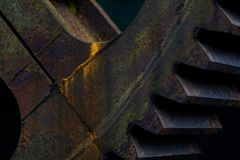 Free Old Rusty Cog Stock Images - 115671104