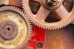 Old Rusty Cogs. Royalty Free Stock Photos