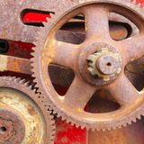 Old Rusty Cogs. Royalty Free Stock Photo