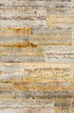 Old Rusty Concrete Block Wall Royalty Free Stock Photography