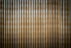 Old rusty corrugated metal wall of a barn building Stock Photo