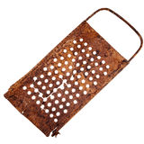 Old rusty cracked grater Royalty Free Stock Photo