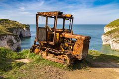 Flamborough North Landing, East Riding of Yorkshire, UK Royalty Free Stock Image