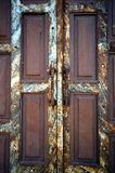 Old rusty door Royalty Free Stock Images