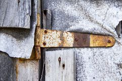 Old rusty door curtain royalty free stock photos