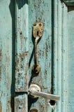 Old rusty door handle Stock Photography