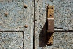 Old Rusty Door Handle Royalty Free Stock Image