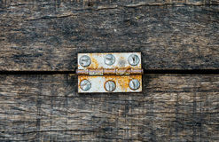 Free Old Rusty Door Hinge Stock Images - 34816554