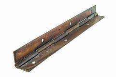 Old rusty door hinge Stock Images