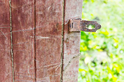 Old rusty door lock Stock Photography