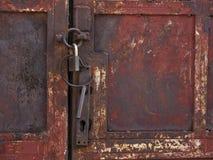 Old rusty door Royalty Free Stock Image
