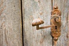 Old rusty doorknob Royalty Free Stock Image