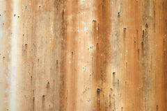 Old rusty dripping stained background texture with dripping rusty lines creates unique background texture Royalty Free Stock Images