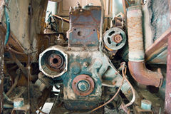 Old rusty engine Stock Photography