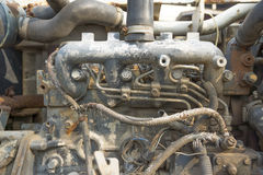 An old rusty engine Stock Images