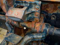 Old rusty engine Stock Photos
