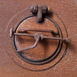 Old rusty fan shutter Royalty Free Stock Image