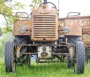 Old rusty farm tractor Royalty Free Stock Image