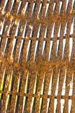 Old rusty fence close up texture Royalty Free Stock Images