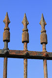 Old rusty fence Royalty Free Stock Photography