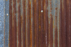 Old rusty galvanized Stock Photos