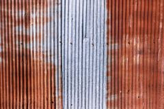 Free Old Rusty Galvanized. Wheathered Rust And Scratched Steel Texture Corrugated Iron Siding Vintage Background. Royalty Free Stock Photos - 111123438