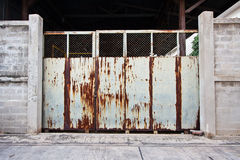 Old Rusty Gate Door Royalty Free Stock Image