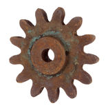 Old rusty gear Royalty Free Stock Photo
