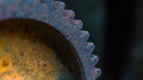 Old rusty gear wheel Stock Images
