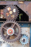 Old rusty gears Stock Image