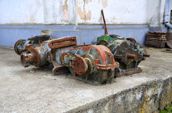 Old rusty generator Royalty Free Stock Image