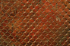 Old rusty grid as a background Royalty Free Stock Photography
