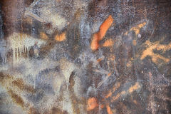 Old, rusty grunge wall Stock Images