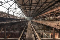 Old rusty Hall Stock Image